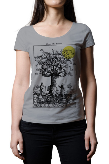 Remera Mujer Alquimia Magna Arbor Elementis | B-side Tees