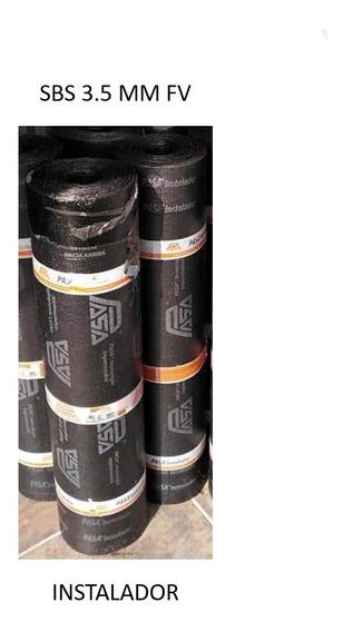 Impermeabilizante Pref Pasa Inst Kit 5 Rollos 3.5mm Fv Rojo