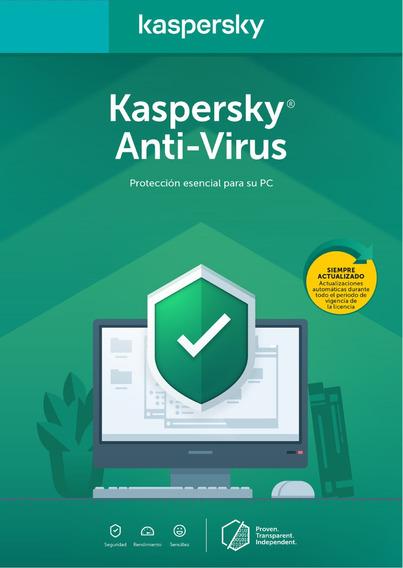 Licencia Antivirus Kaspersky 3 Equipos 1 Año Entrega Digital