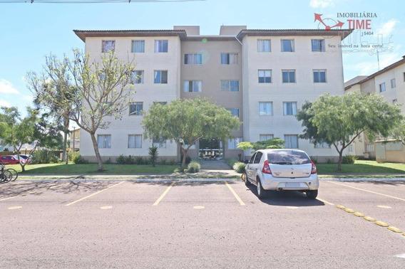 Apartamento Com 3 Dormitórios Para Alugar, 60 M² Por R$ 900/mês - Iná - São José Dos Pinhais/pr - Ap0734