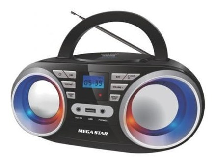 Micro System Megastar Mp1813bt Cd/sd/fm/bluetooth Iluminado
