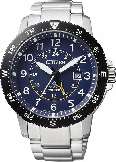 Citizen Eco-drive Promaster Bj7094-59l 200m Land Collection