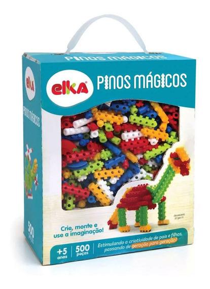 Conjunto Pinos Mágicos - 500 Peças - Elka