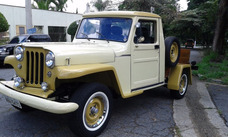Rural F 75 Bicudinha Pick Up Willys Ford F75 F-75