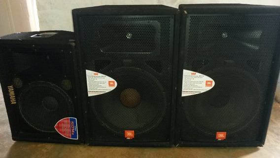 Cornetas Pofesionales Jbl Y Monitor Yamaha
