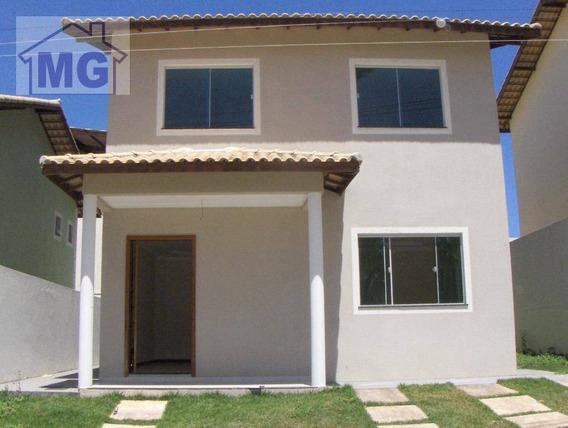 Casa Residencial À Venda, Granja Dos Cavaleiros, Macaé. - Ca0138