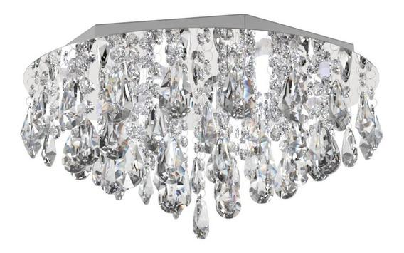 Plafon Lustre De Cristal 40cm Sala Hall Quarto Corredor 311
