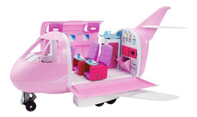 Playset E Acessórios Barbie - Avião De Luxo - Mattel