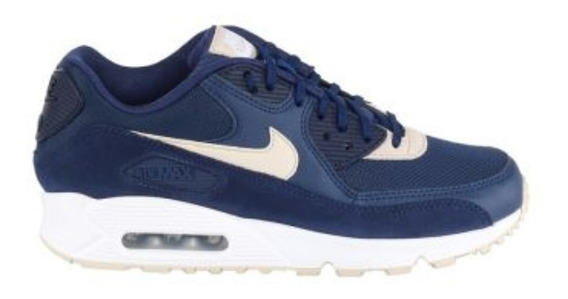 Tênis Nike Air Max 90 Binary Blue Oatmeal *usado Original Fm