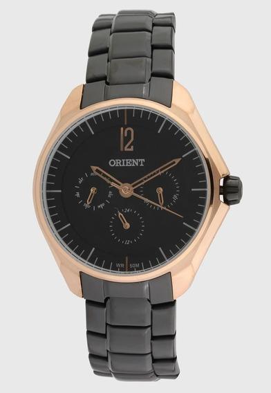 Relógio Feminino Orient Black Rose Original - Ftssm038 P2px