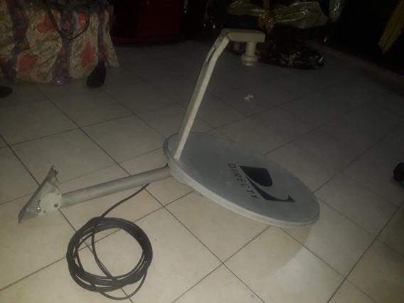 Antena Directv Con 10mtr De Cable