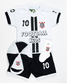Conjunto Bebê Corinthians Infantil Masculino