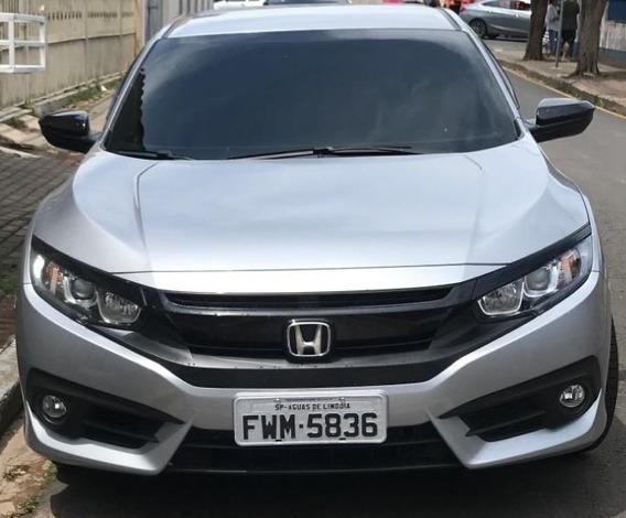 Honda Civic Cvt Sport Novinho Zero