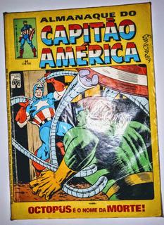 Hq- Almanaque Capitão América - Nº 61