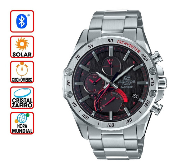 Reloj Casio Edifice Bluetooth Súper Slim Eqb-1000xd-1