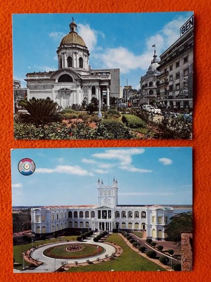 2 Hermosas Postales De Paraguay