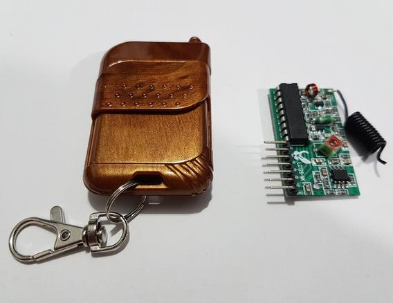Controle Remoto 4 Canais Rf 315mhz + Receptor - Arduino