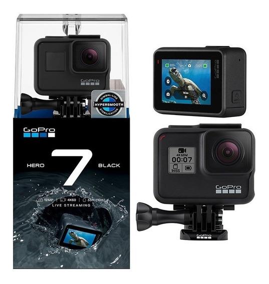 Câmera Gopro Hero7 Black 4k - Chdhx-701-rw