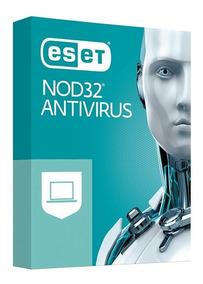 Eset Nod32 V12 2019 Antivirus 1 Pc 2 Años Oficial