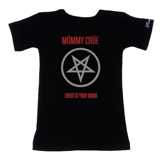 Mommy Crue Playera Niño Motley Crue Talla 4 Años Baby Rock