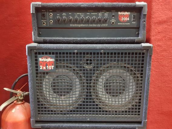 Amplificador Swr Workingman´s 2004 + Caixa 2x10t