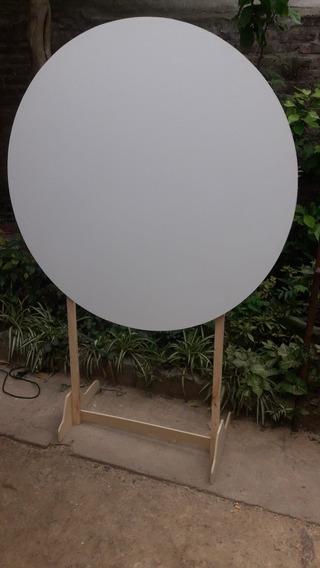 Panel Circular Con Pie De 1, 40 Mts De Diametro