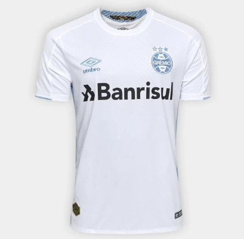 Camiseta Grêmio Ii - 19/20 - Branca Umbro