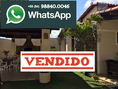 Casa Com 3 Suítes Na Beira Mar Da Praia Da Redinha - Natal/rn - Ca0052