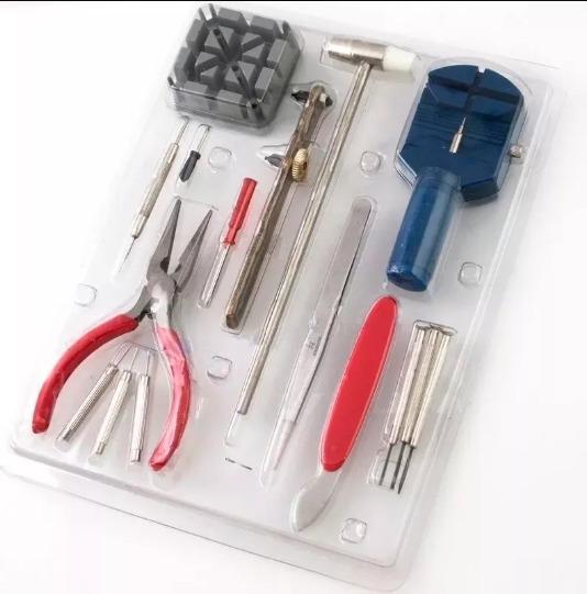 Kit 16 Pç Chave De Precisão Relogio Relojueiro