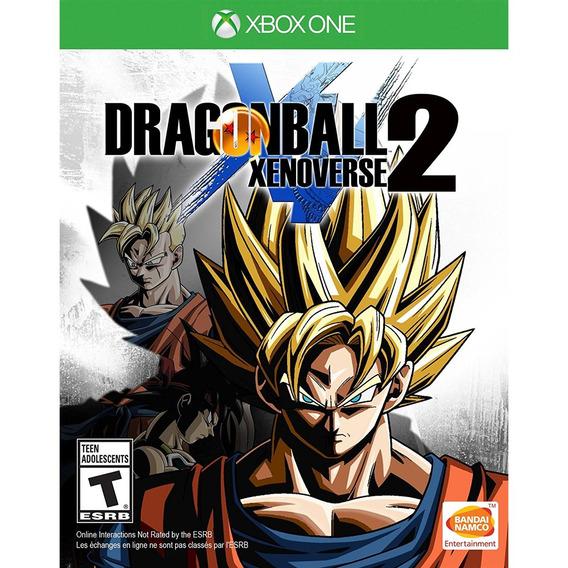 Dragon Ball Xenoverse 2 Xbox One Mídia Física Lacrado