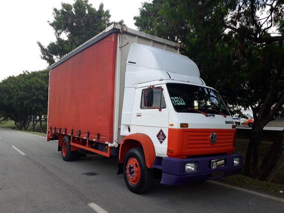 Caminhão Toco Sider Guincho Plataforma Fixa! Vw