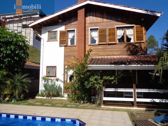 Residencia Ampla No Condominio Parque Das Artes Com Vista Permanente Para Reserva. - Gv14651