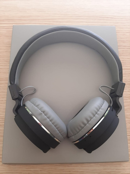 Fone De Ouvido Headphone Bluetooth Mp3 Micro Sd Original