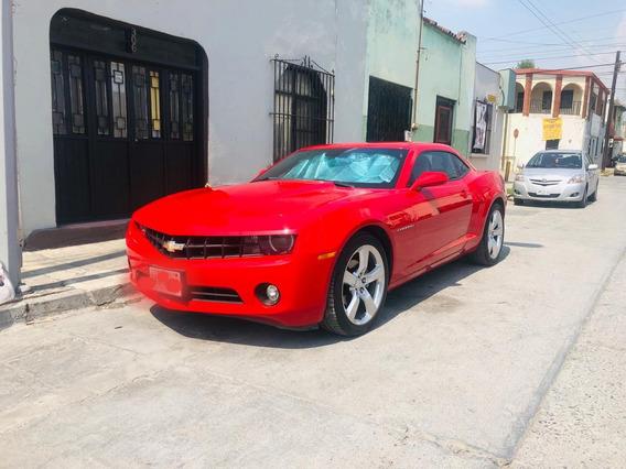 Camaro Rojo 2010 Automatico Rs Piel Bicolor Todo Pagado