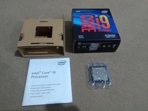 Imagem 1 de 5 de Processador I9 9900kf Lga 1151 Intel Impecável