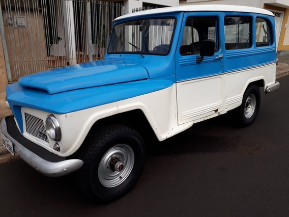 Ford Rural Willys 4x4 1977 4 Cil Motor Original Ford 2.3