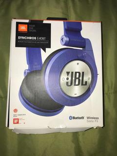 Auriculares Inalámbricos Jbl Synchros E40 Con Bluetooth