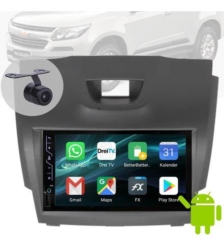 Imagem 1 de 4 de Central Ht-6022 16gb Android Camera Moldura Trailblazer