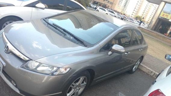 Honda Civic Exs Automático - Versão Mais Completa De Fábrica