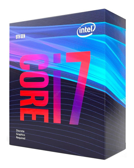 Processador Intel Core I7-9700 Desktop 8 Nucleos 3ghz