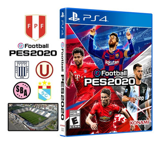 Pes 2020 + Póster Pro Evolution Soccer 20 Ps4 Disponible
