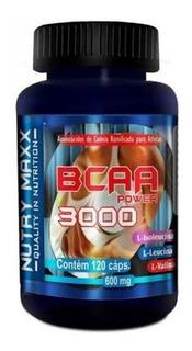 Bcaa Power 3000 120 Cápsulas 600 Mg