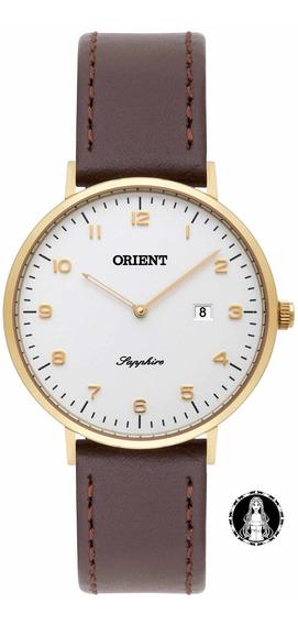 Relógio Orient Slim Safira Fgscs001 S2nx C/ Nf E Garantia U