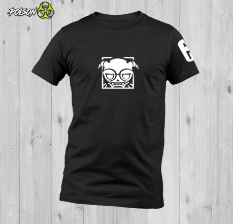 Playera Dryfit Cuello Redondo Rainbow Six Siege Dokkaebi Log