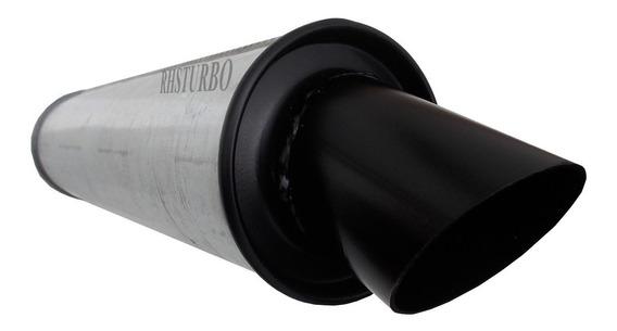 Abafador Turbo 2-1/2 Pol. Para Motor Turbinado Com Turbo