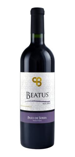 Imagen 1 de 1 de Vino Tinto Beatus Malbec 750ml