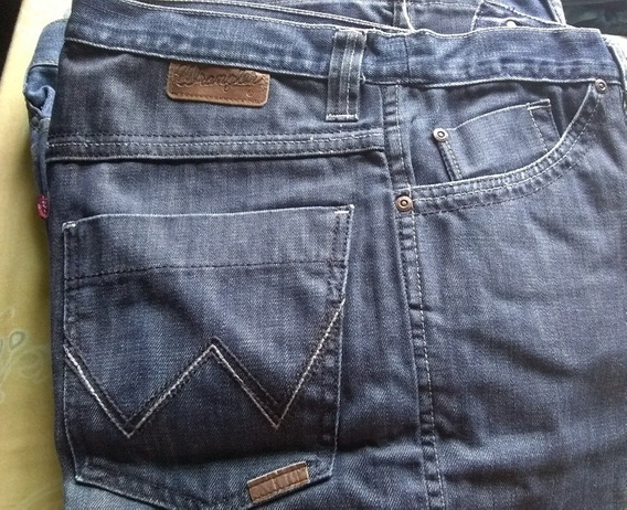 9 Pantalones Wrangler Usados, 1 Levis Y 4 Ke. 1-5-5 Aquellos