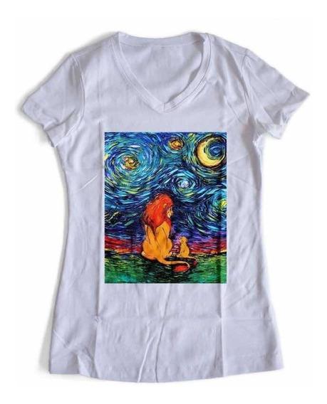 Playera Rey Leon Disney Van Gogh