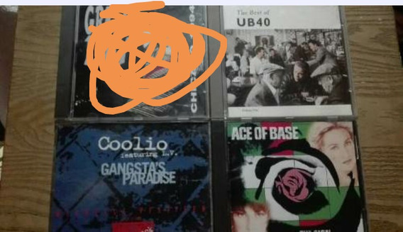 Lote Cds Coolio Ace Of Base Ub40