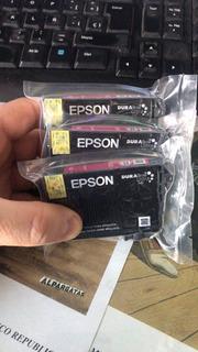 Cartucho Epson 195 Original Magenta Xp211 Xp201 Xp101 S/caja